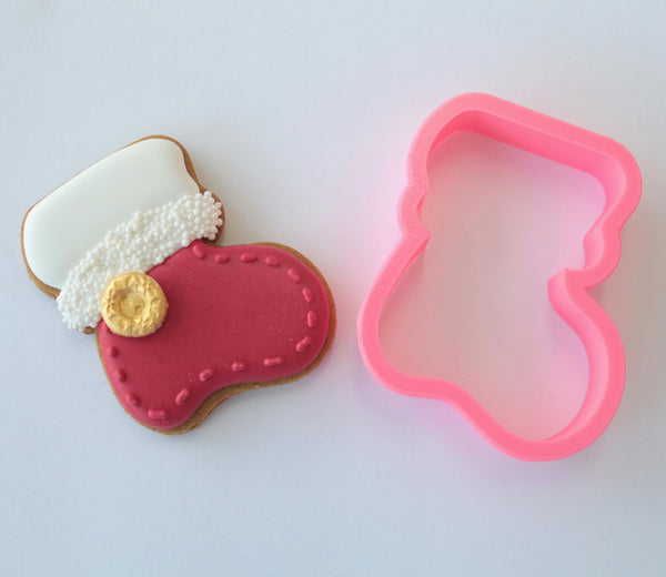 Christmas Stocking Cutter (Miss Biscuit)