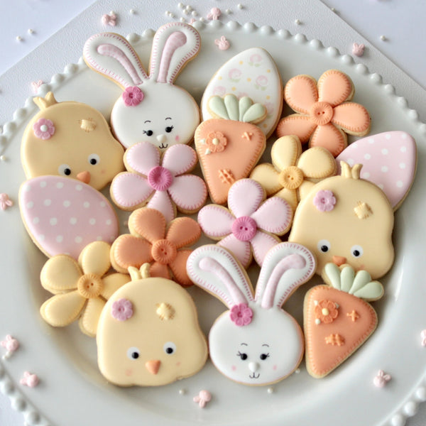 Buttons & Stitches Easter Cutter Set (Miss Biscuit)