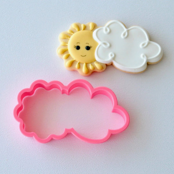 Sun Behind Cloud Cutter (Miss Biscuit)