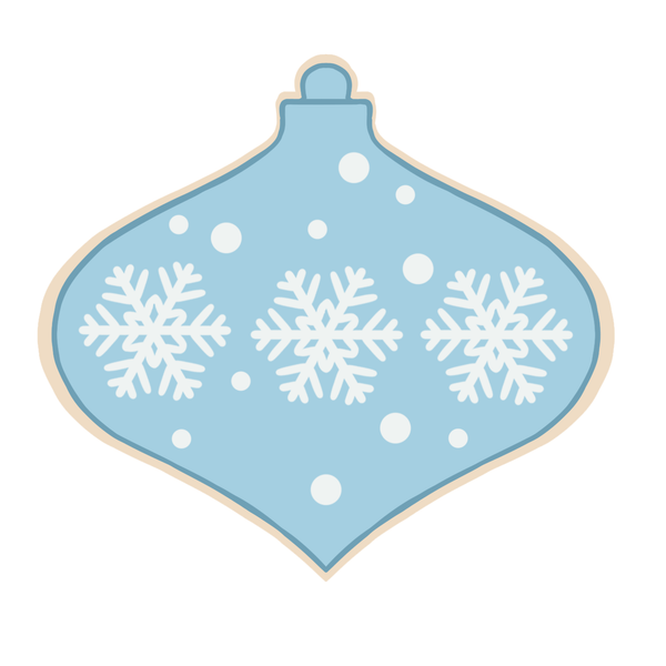 Ornament 1 Cutter (Miss Biscuit)