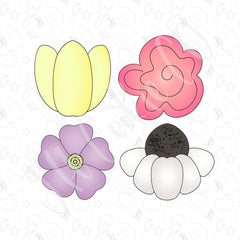 Spring Flower Mini Set
