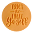 Little Biskut Trick or Treat Yo Self Stamp