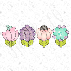 Wild and Funky Flower Set