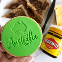 Little Biskut Australia Day Embosser
