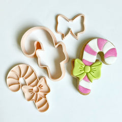 Mini Candy Cane Cutter & Embosser Set (Little Biskut)