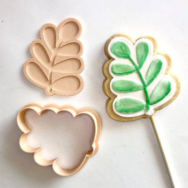 Little Biskut Leaf Cutter & Embosser Set