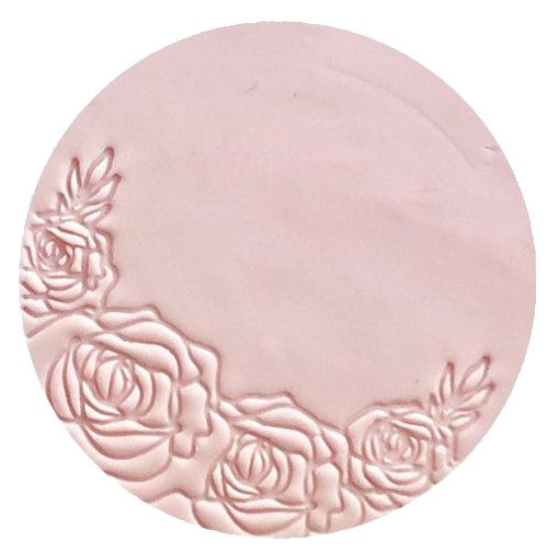 Little Biskut Rose Border Embosser