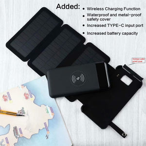 Foldable Waterproof Solar Panel Charger