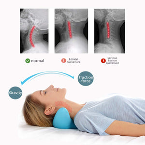 C-Rest Acupressure Neck Massage Pillow