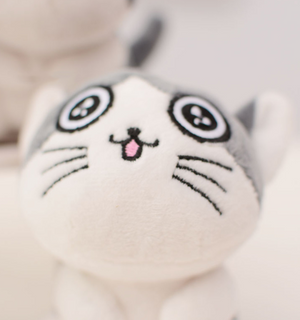 Adorable Cat Plush Toy Key Ring - DidntKnowINeedThat