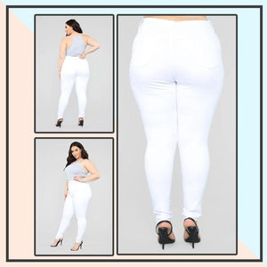 Stretchy Colored Shaper Jeans
