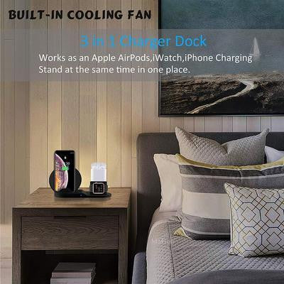 3 IN 1 Wireless Charging Stand For Apple Products - DidntKnowINeedThat