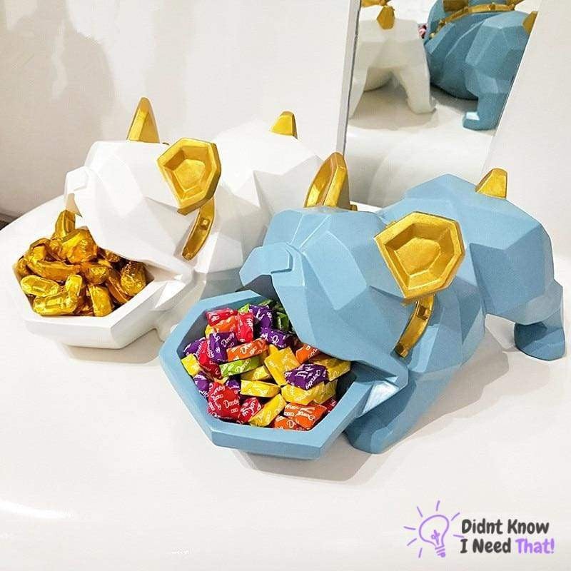 Bulldog Decorative Candy Box - DidntKnowINeedThat