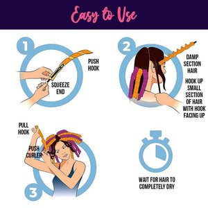 DIY Magic Hair Curler