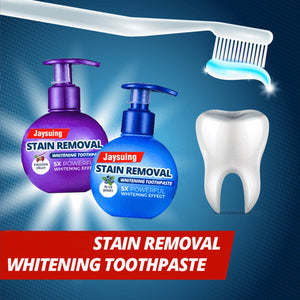 STAIN REMOVAL WHITENING TOOTHPASTE - DidntKnowINeedThat