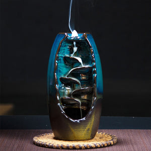 Waterfall Handicraft Backflow Incense Holder - DidntKnowINeedThat