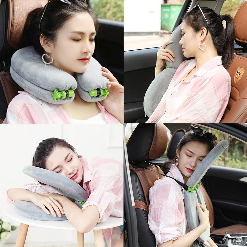 Multi-Purpose Folding Travel Pillow