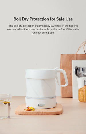 Foldable Electric Water Kettle