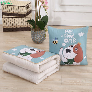 2 in 1 Foldable Pillow Cum Blanket