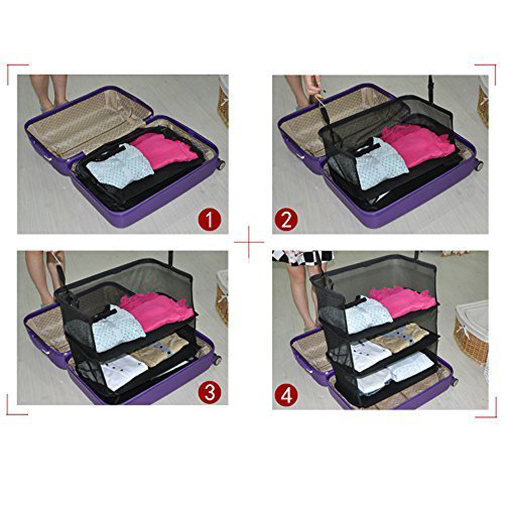3 Layers Foldable Travel Bag