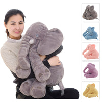 Cozy Elephant Pillow - CUDDLE BUDDY
