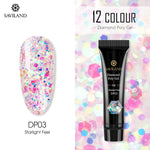 PolyGel Finger Extension Glitter