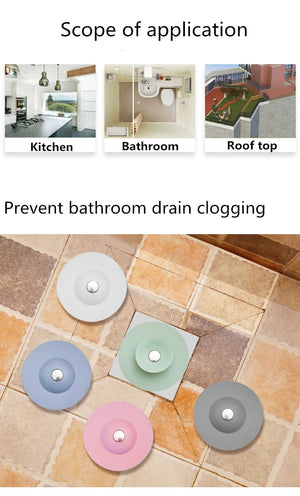 Multi Functional Drain Stoppers