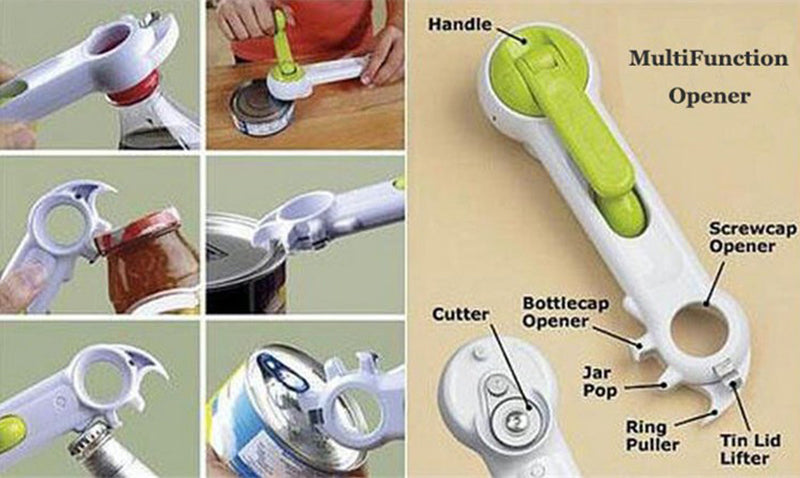 6 IN 1 Multi-Functional Kitchen Tool