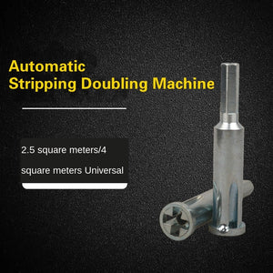 Universal Wire Stripping And Automatic Twisting Tool