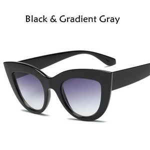 Cat Eye Tinted Color Women Sunglasses - DidntKnowINeedThat