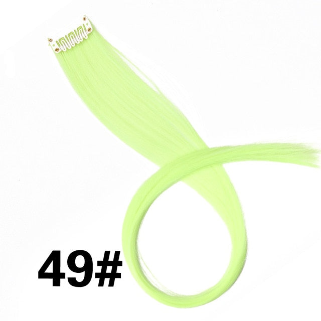 Highlight Synthetic Hair Extensions Clip