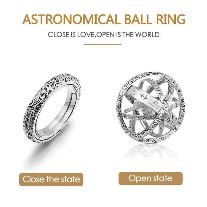 Astronomical Sphere Ring - DidntKnowINeedThat