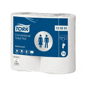 TORK ADVANCED TOILETPAP KING-SIZE 2-LGS WIT 69MTR X 10CM PK À 24ROL/500 VEL