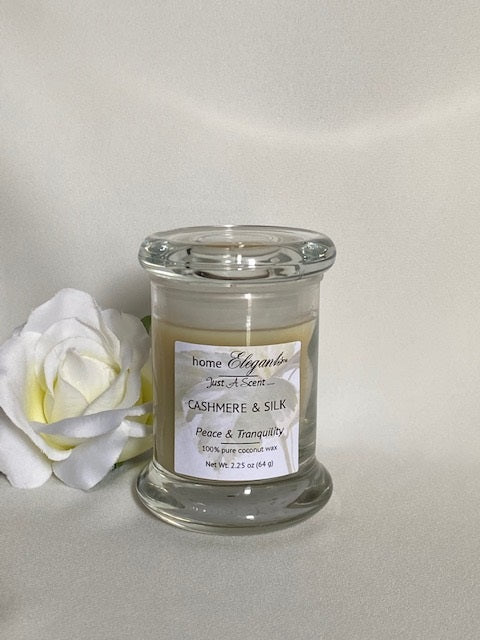 Elegant Glass Candles (small)