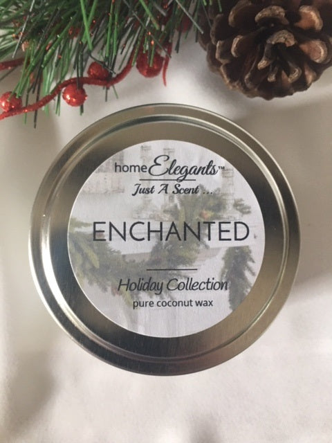 Enchanted Limited Edition Holiday Tin Candle