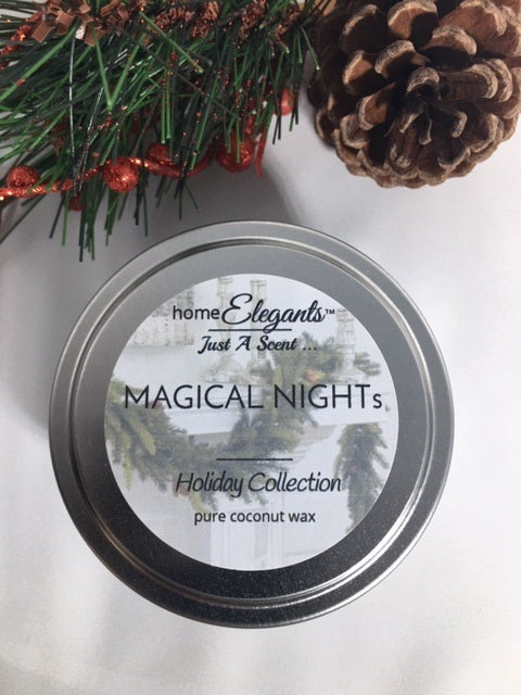 Magical Night's Limited Edition Holiday Tin Candle
