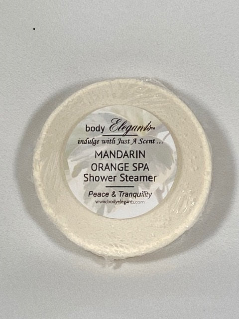 Mandarin Orange Spa Shower Steamer (Tranquility)