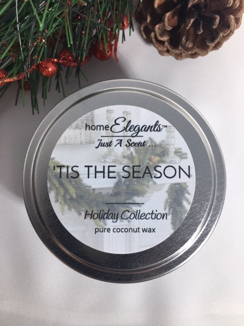 'Tis The Season Limited Edition Holiday Tin Candle