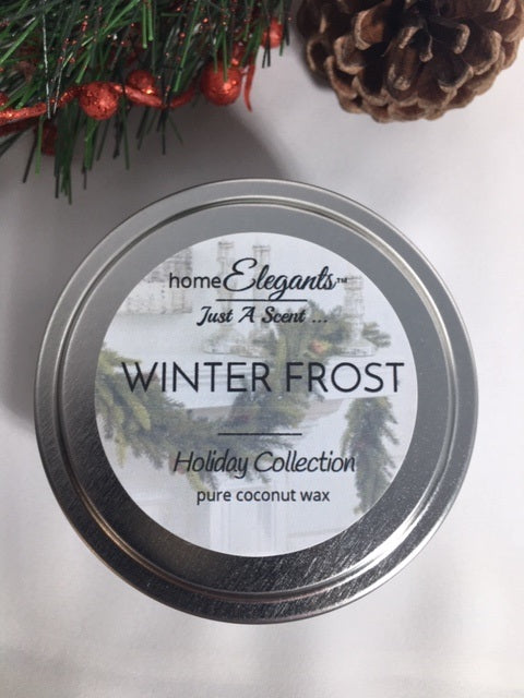 Winter Frost Limited Edition Holiday Tin Candle