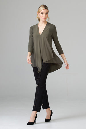 3/4 Sleeve Avocado Tunic