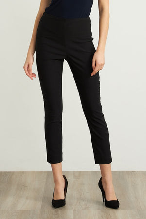 NAVY SIDE CIRCLE TRIM PULL-ON PANT