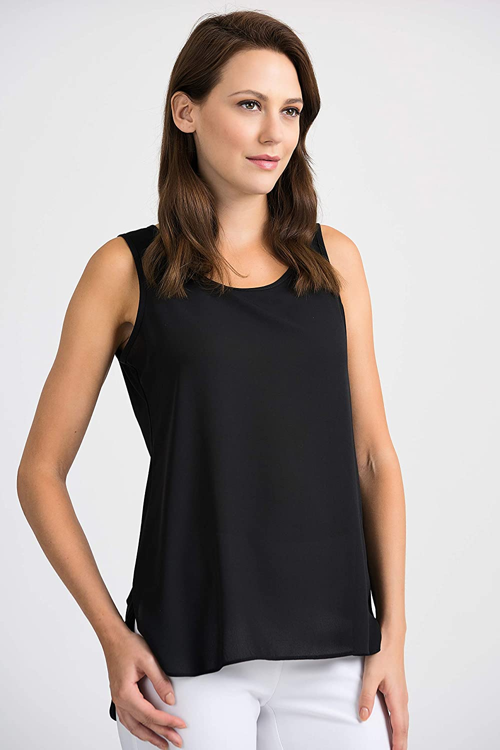Essential Black Sleeveless Top