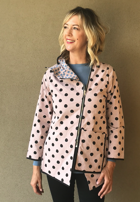 Reversible Pretty In Pink Jacket