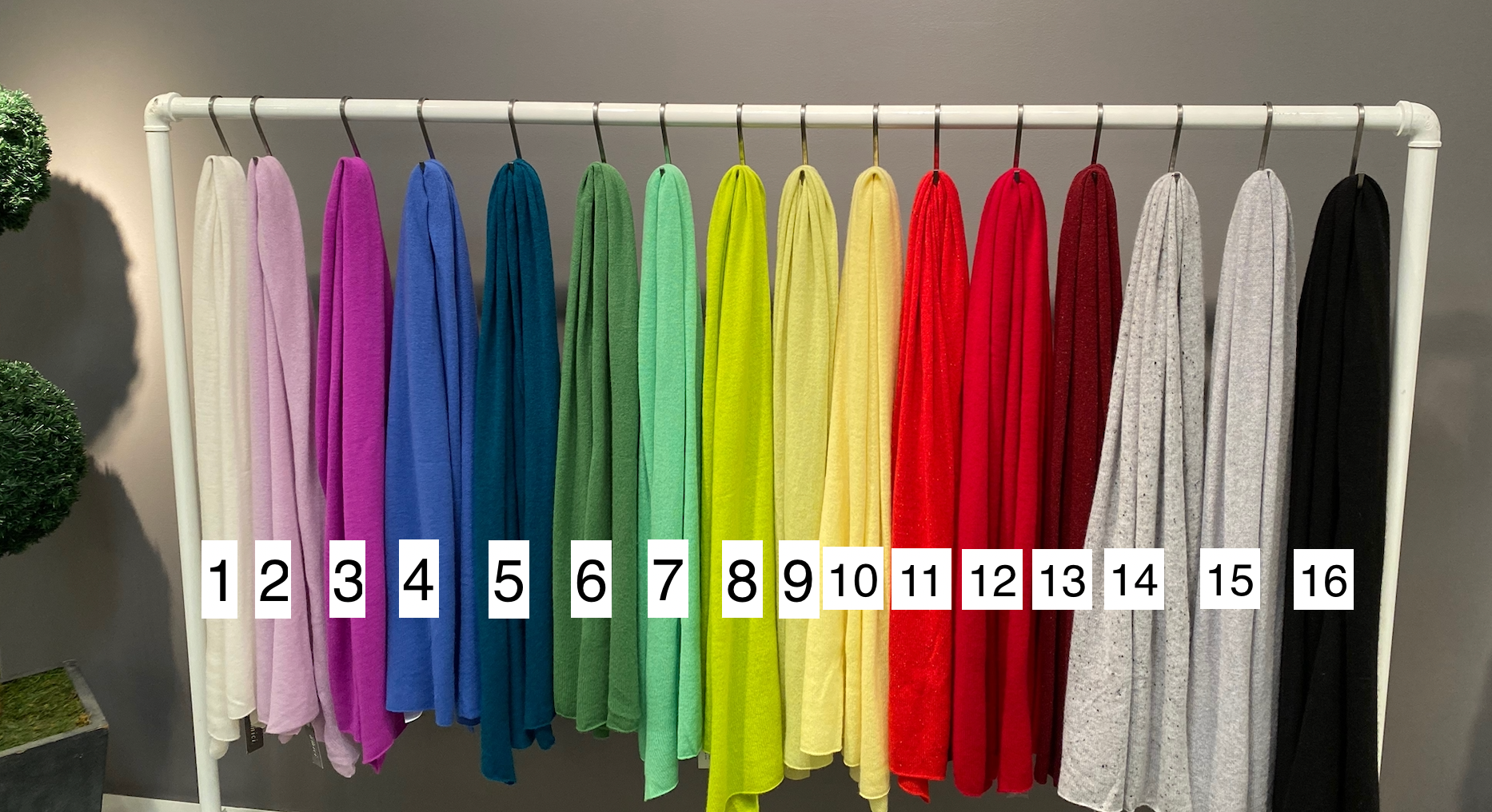 MANY COLORS RUANA-PONCHO ONE SIZE