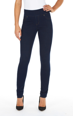 Indigo Mid-rise Slimming Love Denim by FDJ