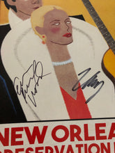Load image into Gallery viewer, EVAN+ZANE: Jazz | New Orleans, LA | November 16th, 2018 | PERSONALLY AUTOGRAPHED by Evan Rachel Wood + Zane Carney (Only 50 Available)