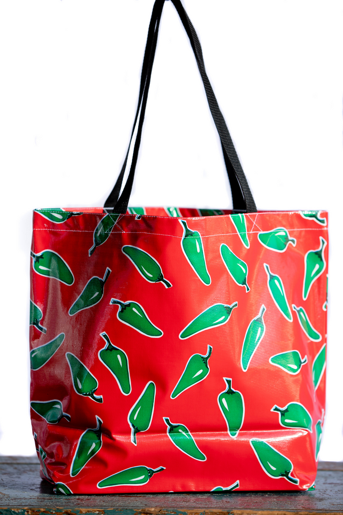 Chiles Red Large Tote