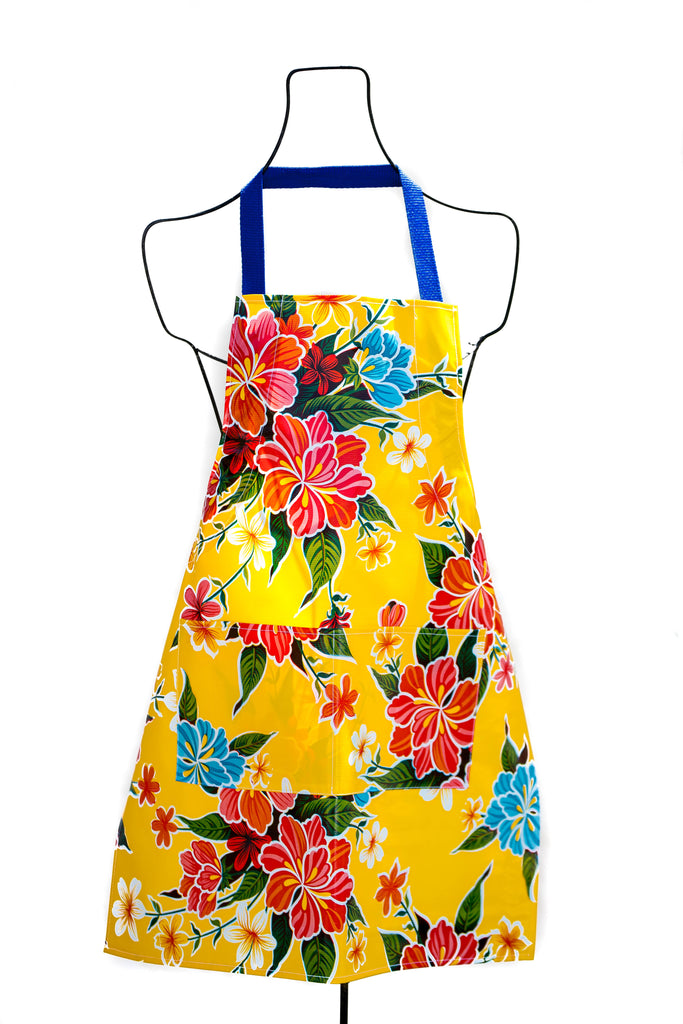 Hibiscus Yellow Apron
