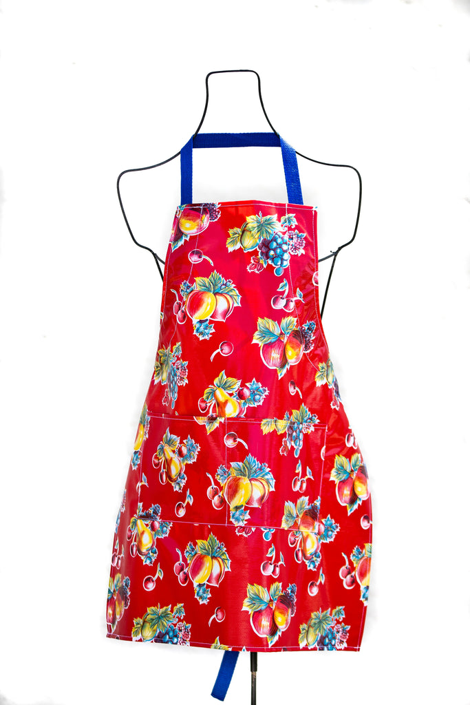 Pears & Apples Red Apron