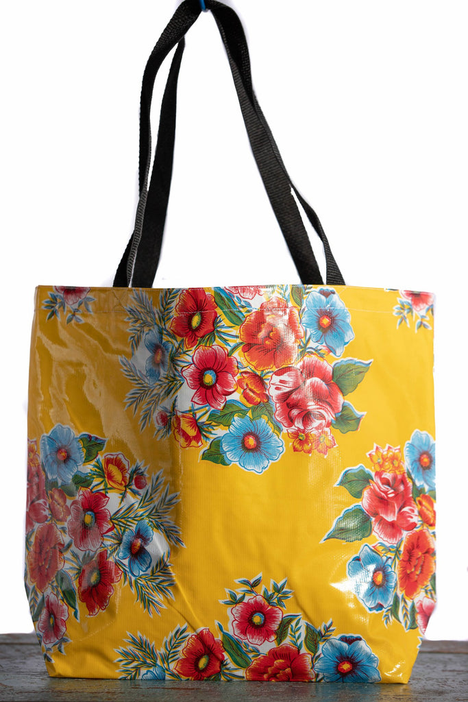 Lady Bird Yellow Large Tote